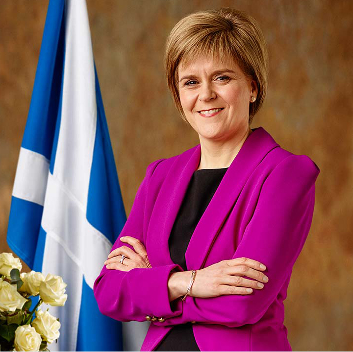 Image of Nicola Sturgeon, First Minister of Scotland