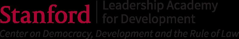 Logo for Leadership Academy for Development