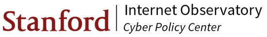 Internet Observatory  logo