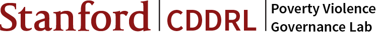 CDDRL Program on Poverty and Governance logo