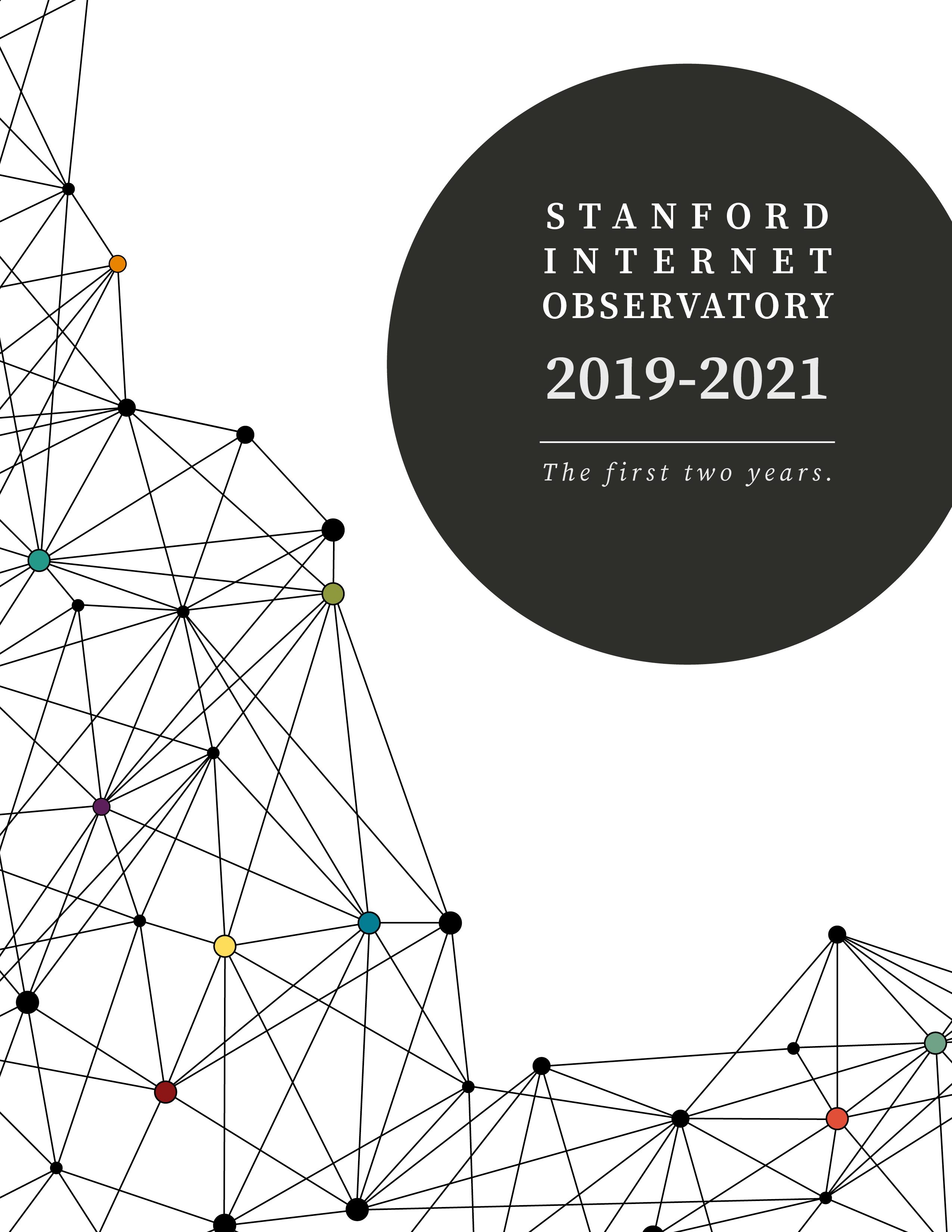 Image of SIO 2-year report cover
