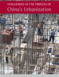 Chinese construction workers build amidst a sea of rebar.