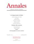Annales cover image