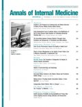 Annals of Internal Medicine cover image