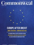 Commonweal Aug 2016 cover image
