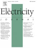 Cover of Electricity Journal July 2021 issue