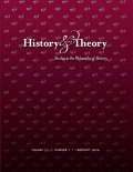 History & Theory cover