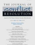 Journal of Conflict Resolution cover image