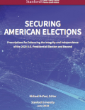 Securing American Elections Cover of Book