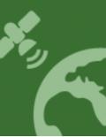 Logo of satellite over the art