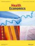 Cover of Wiley Health Economics journal.