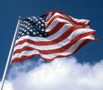 man USA Flag 1992 logo