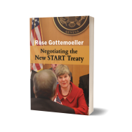 Cover of 'Negociating the New START Treaty' by Rose Gottemoeller