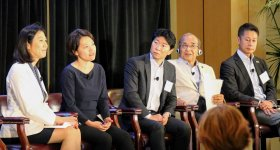 Education session at the California-Japan Governors' Symposium