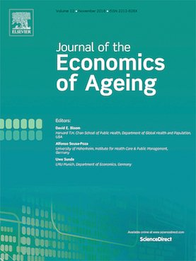 Cover for the Journal of the Economics of Aging
