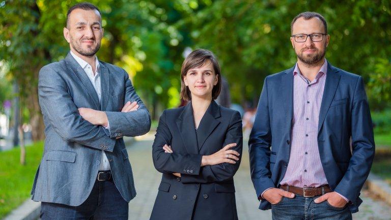 Photo of Nariman Ustaiev, Yulia Bezvershenko, and Denis Gutenko