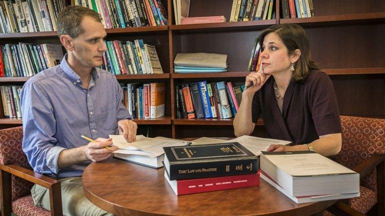 David Studdert and Michelle Mello of Stanford University