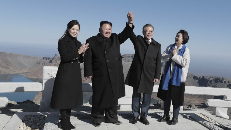 Pyeongyang Press Corps/Pool/Getty Images