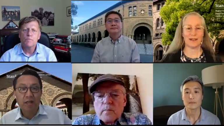 Michael McFaul, Xueguang Zhou, Karen Eggleston, Gi-Wook Shin, Don Emmerson, and Yong Suk Lee