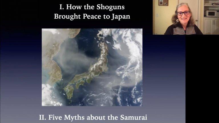 Stanford Professor Kären Wigen gives a virtual seminar for Stanford SEAS Hawaii