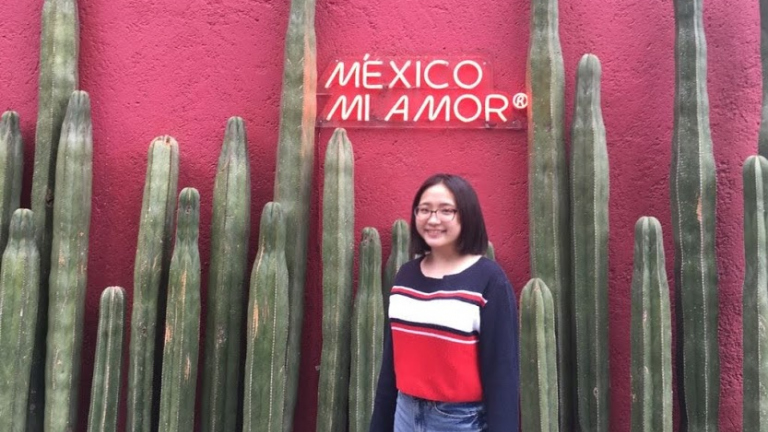 Stanford e-Entrepreneurship Japan student Naho Abe in Mexico City