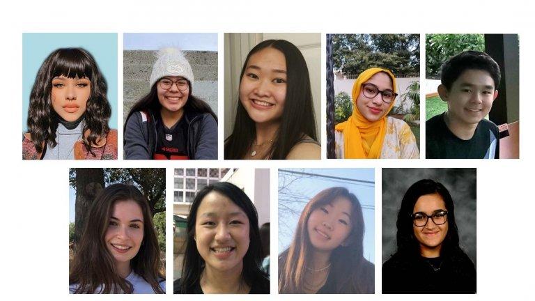 nine students headshot
