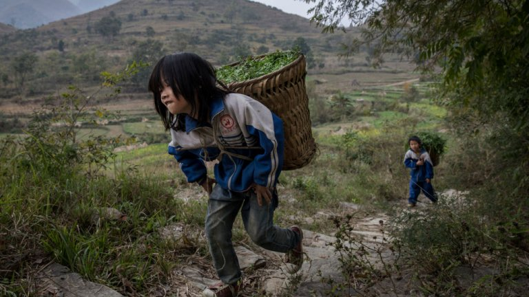 Children in rural China
