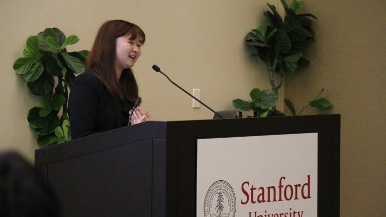 Valerie Wu at Stanford University, August 10, 2018