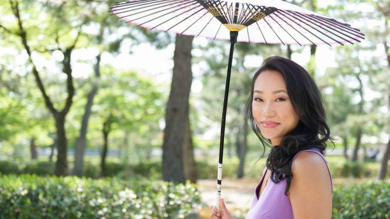 Victoria Tsai in Kyoto