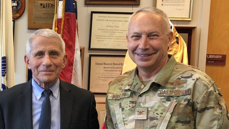Dr. Fauci and Dr. Winslow