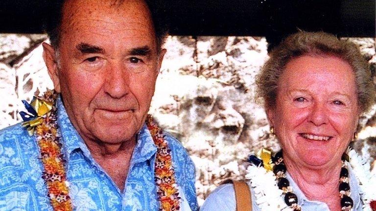 Houghton and Doreen Freeman. Courtesy: Graeme Freeman
