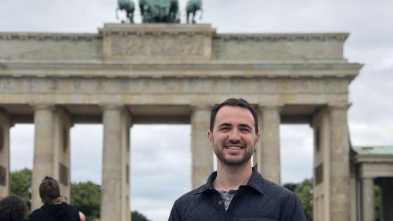 Sean Friedowitz at Brandenburg Gate