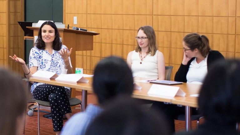 Maya Rossin-Slater leads Health Economics Mentorship Workshop