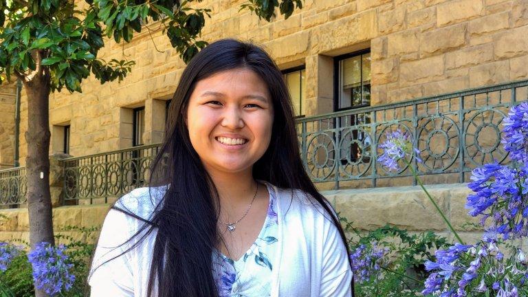 SPICE student intern Stacy Shimanuki