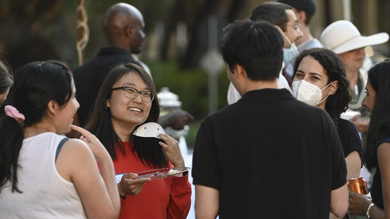 Students at Stanford Department of Health Policy Launch