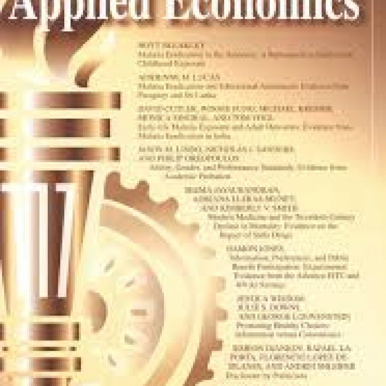 American Economic Journal: Applied Economics