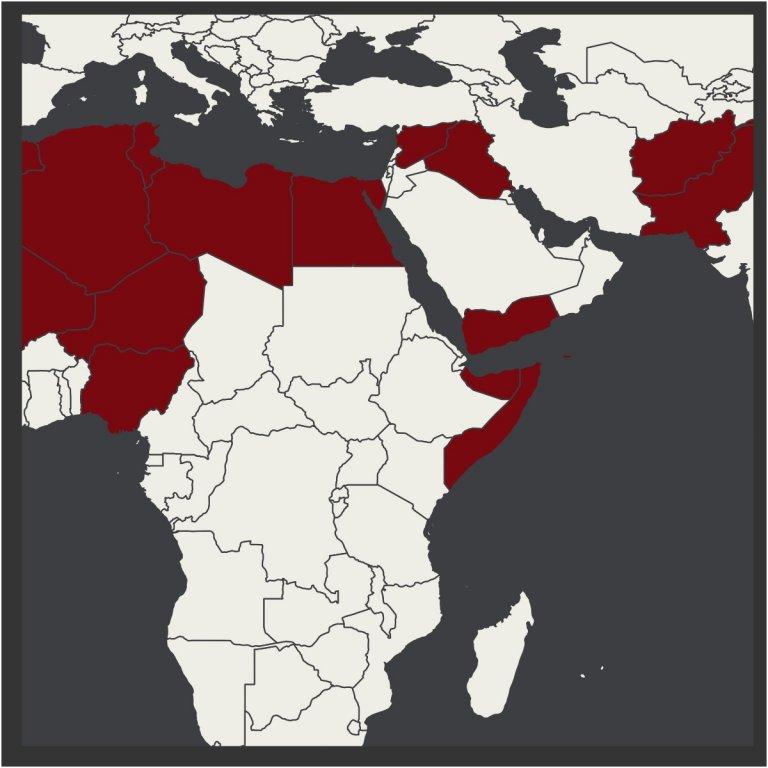 alqaeda map