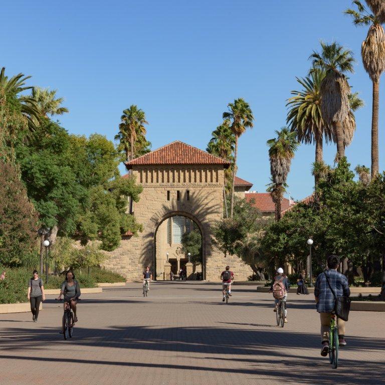 Stanford main quad.