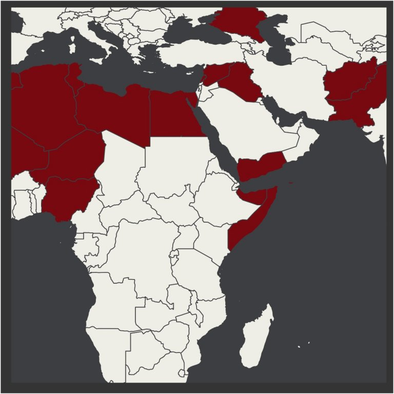 islamicstate map