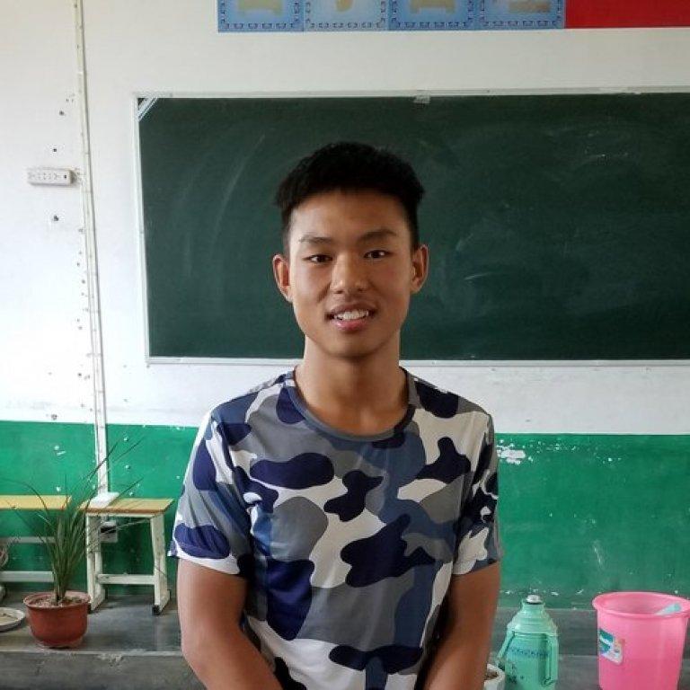 wang zihan china student