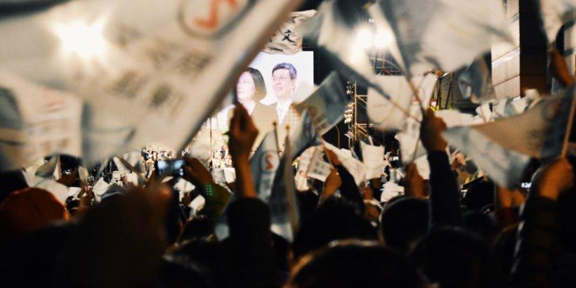 Taiwan Election Night 2016