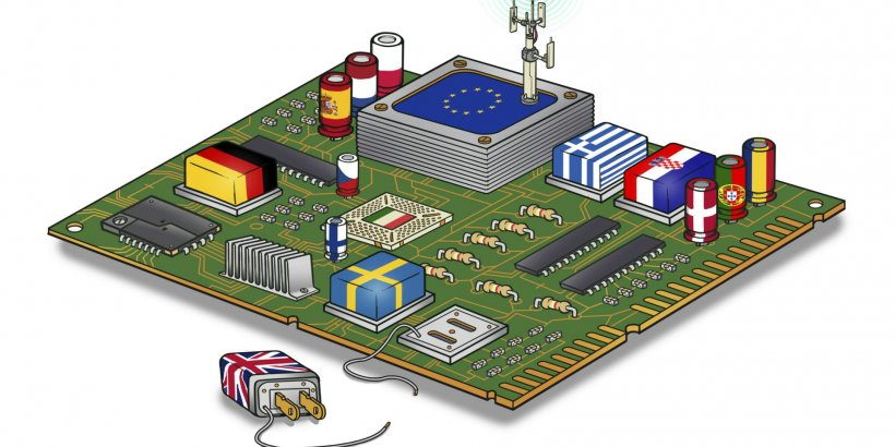 EU digital world graphic