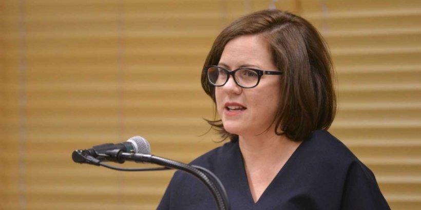 Anna Fifield speaks at Shrenstein Journalism Awad Panel