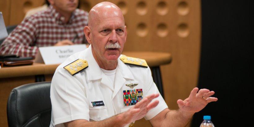 FSI - US Pacific Fleet commander visits SCPKU, emphasizes