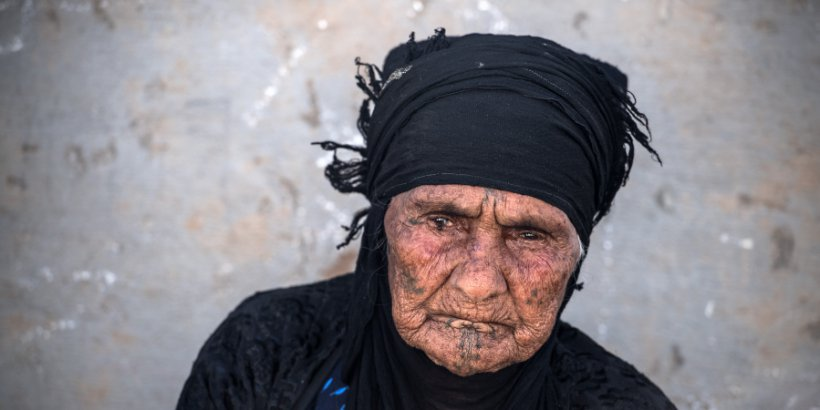 mosul old woman