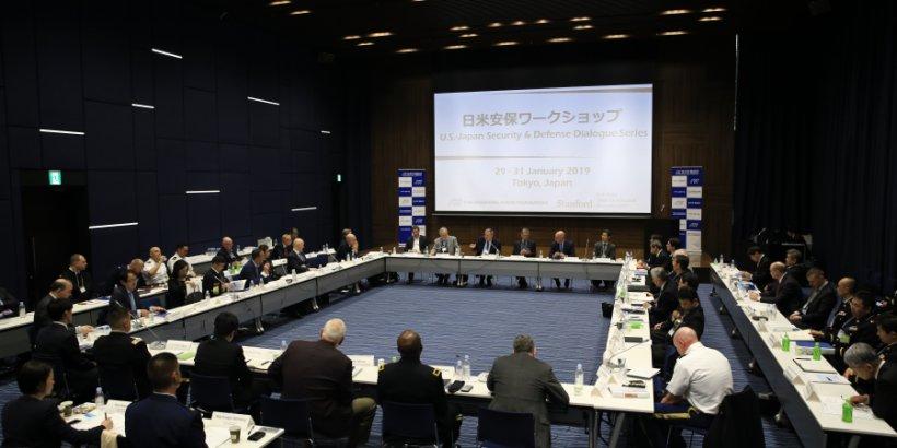 Photo of room at 2019 U.S–Japan Security & Defense Dialogue Series