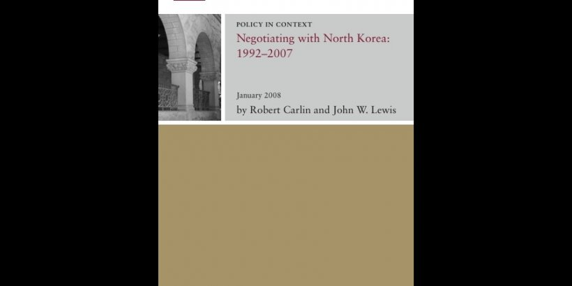 Negotiating with North Korea 1992 2007