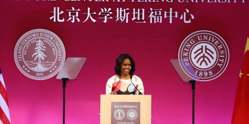 Michelle Obama small