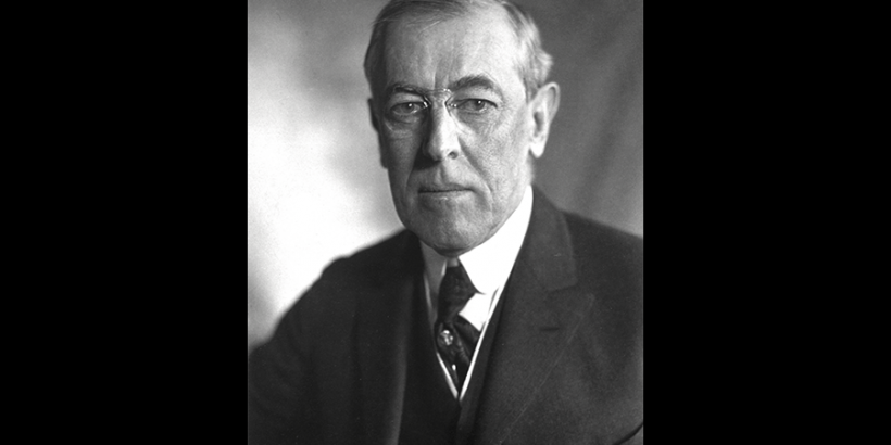 president wilson 1919 bws