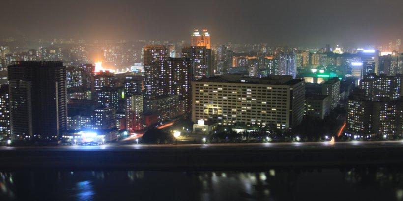 pyongyang night flickr lawrence wang